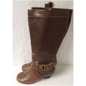 Brown Boots Size 9W